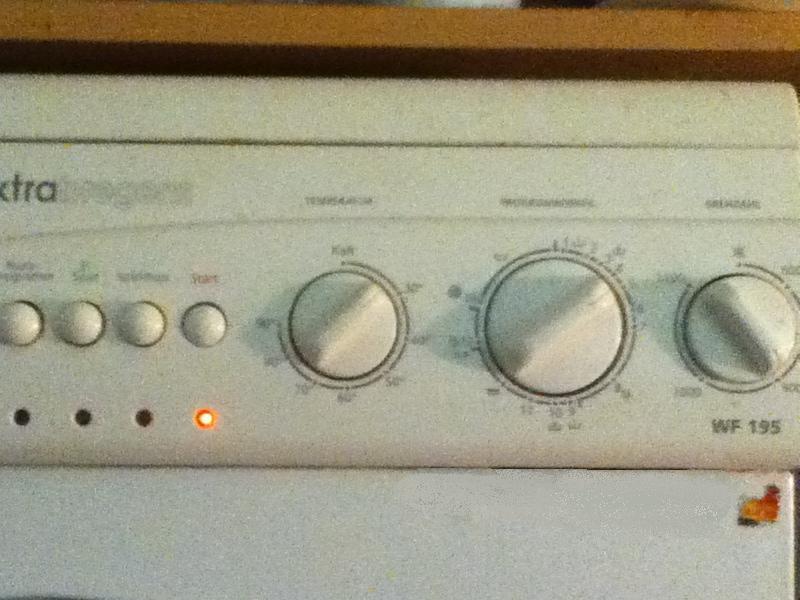 Mosógép külön termosztáttal