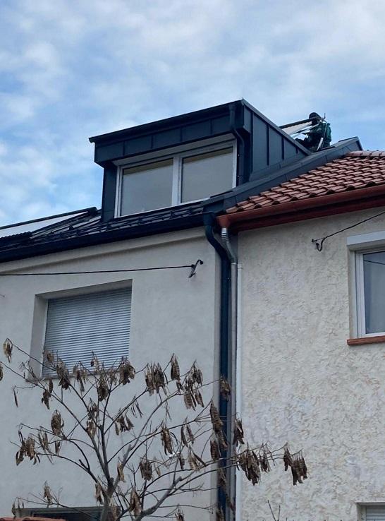 Vákuumcsövek a tetőn