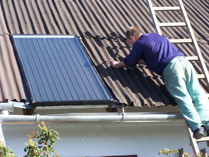 A tető helyreállítása